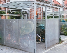 Fahrrad-Abstellhäuschen