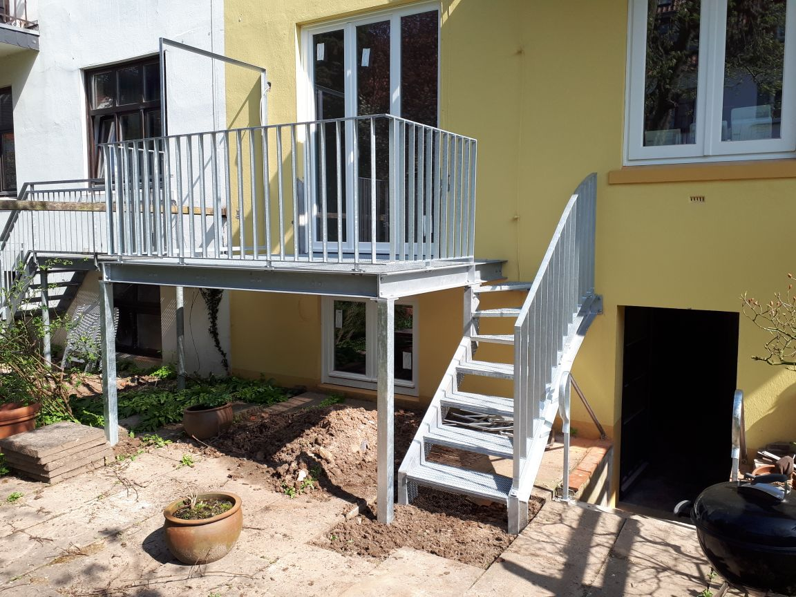 treppe balkon